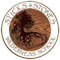 Sticks & Stones Wilderness School Logo